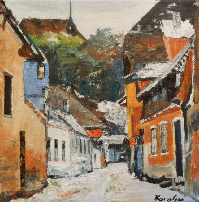 Strada in Sighisoara